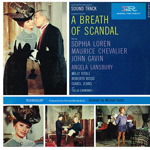 A Breath Of Scandal (Alessandro Cicognini) [Mono] (Imperial LP-9132-W) (1959)