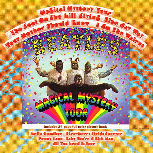 The Beatles - Magical Mystery Tour [1976 US Pressing] [Capitol SMAL-2835] (1967)