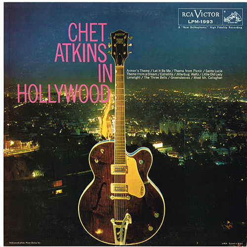 Chet Atkins - Chet Atkins In Hollywood [RCA Records LPM-1993] (1959)