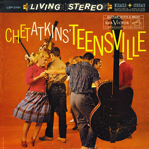 Chet Atkins - Teensville [RCA Records LSP-2161] (1960)