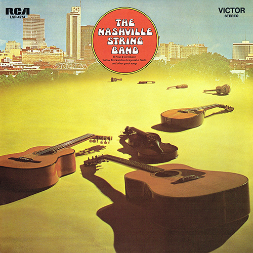 Chet Atkins w/Homer and Jethro - The Nashville String Band [RCA Records LSP-4274] (1969)