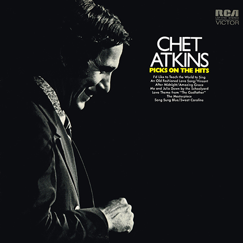 Chet Atkins - Picks On The Hits [RCA Records LSP-4754] (1972)