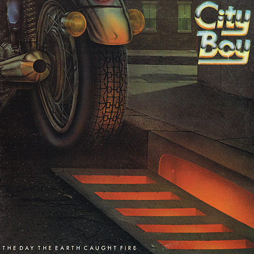 City Boy - The Day The Earth Caught Fire [Atlantic SD 19249] (1979)