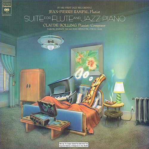 Claude Bolling - Suite For Flute And Jazz Piano [Columbia M 33233] (1975)