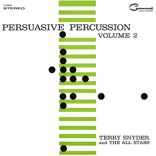 Enoch Light - Persuasive Percussion Vol 2 (Command RS 808 SD) (1959)