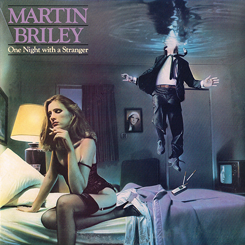 Martin Briley - One Night With A Stranger (Mercury 810332-1 M-1) (1982)