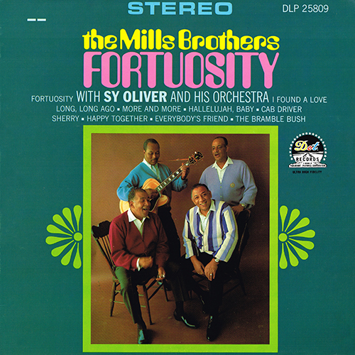 The Mills Brothers - Fortuosity [Dot DLP 25809] (1967)