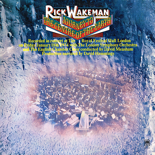 Rick Wakeman - Journey To The Centre Of The Earth [A&M SP-3621] (1974)