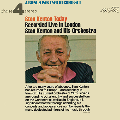 Stan Kenton - Stan Kenton Today [London Phase 4 BP 44179/80] (1972)