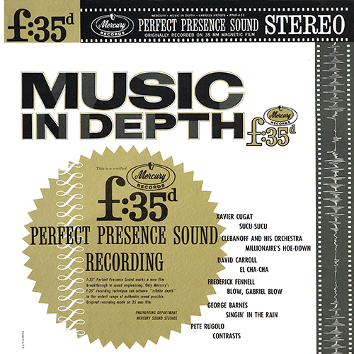 Various Artists - Music In Depth [Mercury Perfect Presence PPSD-4-12] (1962)