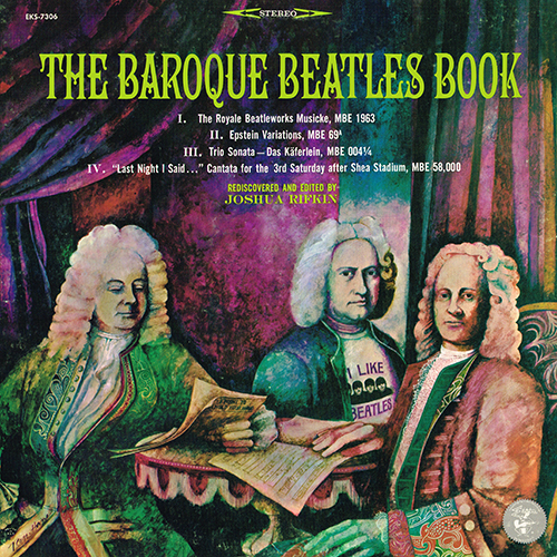 The Beatles {Joshua Rifkin / Baroque Ensemble of the Merseyside Kammermusikgesellschaft}: The Baroque Beatles Book (1966)
