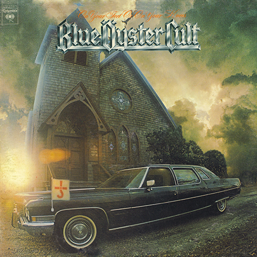 Blue Oyster Cult - On Your Feet Or On Your Knees (Columbia PG 33371) (1975)