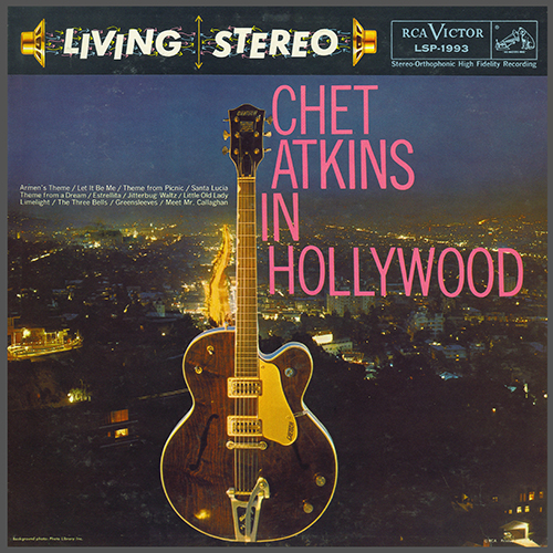 Chet Atkins: Chet Atkins In Hollywood (RCA LSP-1993) (1959)