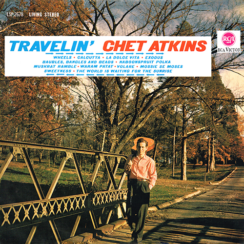 Chet Atkins - Travelin' [RCA Victor LSP 2678] (1963)