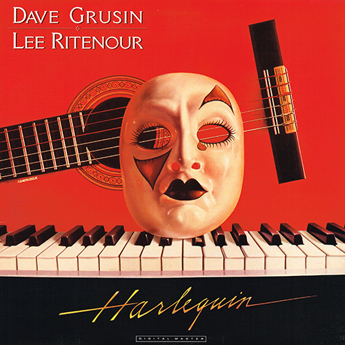 Dave Grusin & Lee Ritenour - Harlequin [GRP Records GRP-A-1015] (1985)