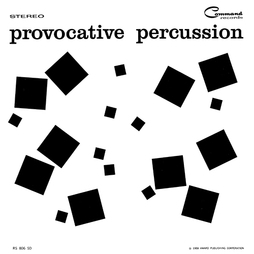 Enoch Light / The Command All-Stars - Provocative Percussion [Command RS 806 SD] (1959)