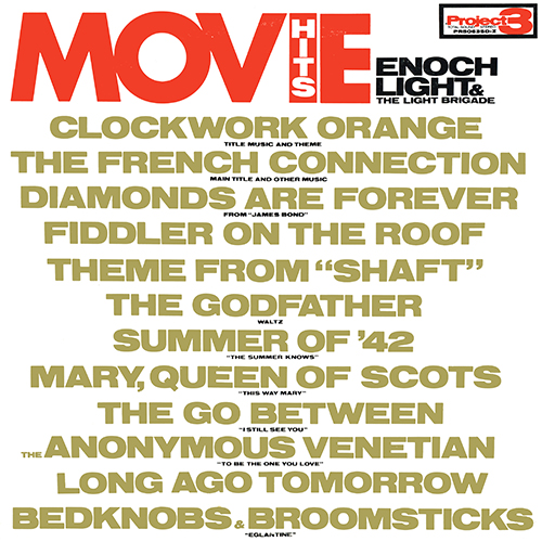 Enoch Light - Movie Hits! [Project 3 PR 5063 SD-Z] (1972)
