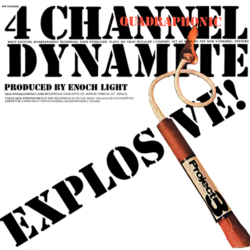 Enoch Light - 4 Channel (Quadraphonic) Dynamite [Project 3 PR 5068 QD] (1972)