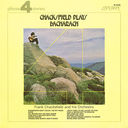 Frank Chacksfield and his Orchestra - Chacksfield Plays Bacharach [London Phase 4 SP 44158] (1970)
