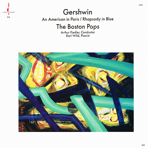 George Gershwin - An American In Paris / Rhapsody In Blue [Chesky Records RC8] (1988)