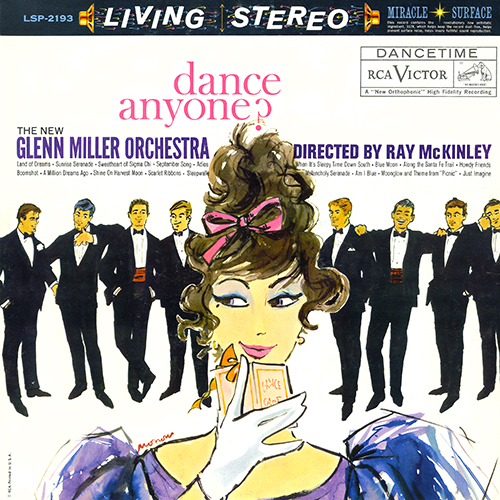 The New Glenn Miller Orchestra - Dance Anyone? [RCA Victor Records LSP-2193] (1960)