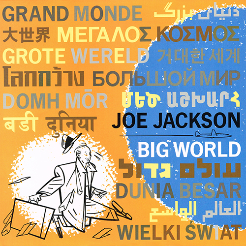 Joe Jackson - Big World [A&M Records SP-6021] (1986)