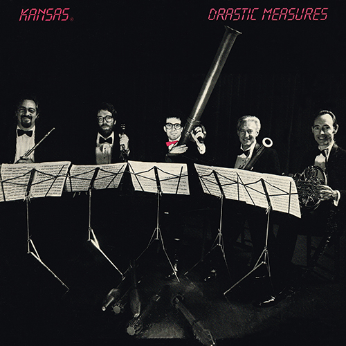 Kansas - Drastic Measures [CBS Associated QZ 38733] (07-1983)