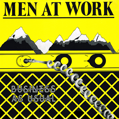 Men At Work - Business As Usual [Columbia ARC 37978] (1982)
