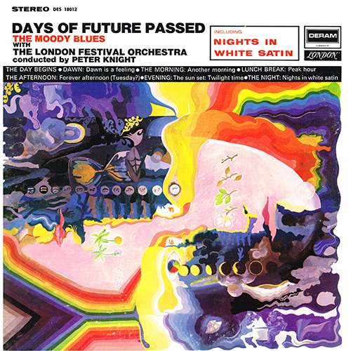The Moody Blues - Days Of Future Passed [Deram DES-18012] (1967)