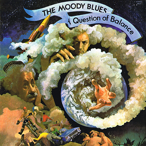 The Moody Blues - A Question Of Balance [Threshold THS 3] (1970)