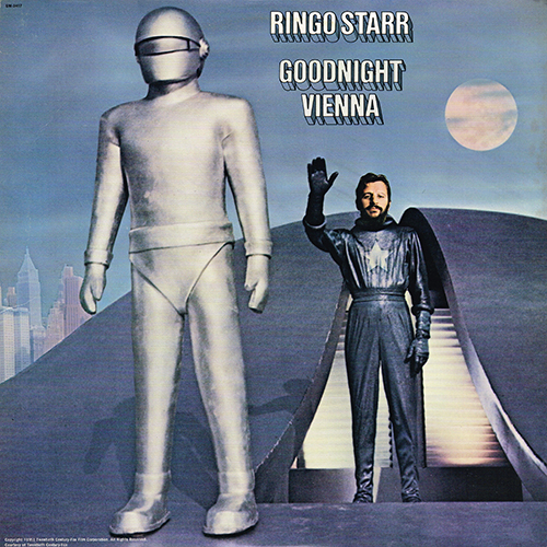 Ringo Starr - Goodnight Vienna [Apple Records SW-3417] (18 November 1974)