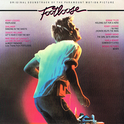 Various Artists - Footloose (Original Motion Picture Soundtrack)  [Columbia JS 39242] (1984)