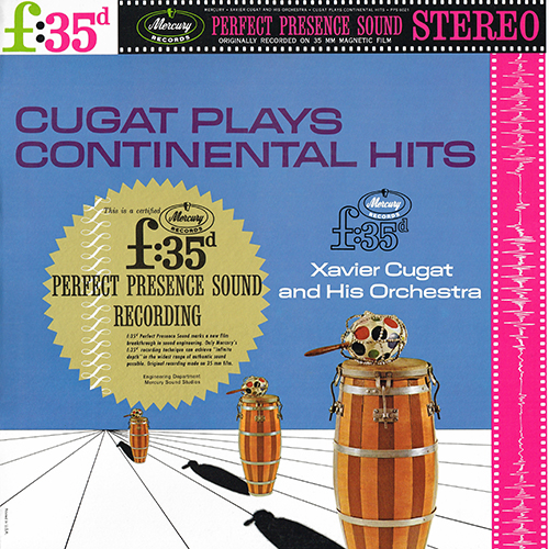 Xavier Cugat and His Orchestra - Cugat Plays Continental Hits [Mercury PPS 6021] (1962)