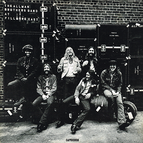 Allman Brothers Band - The Allman Brothers Band At Fillmore East [Capricorn Records SD 2-802] (1971)