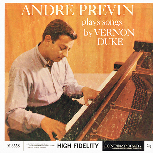 Andre Previn - Plays Vernon Duke [Contemporary M3558] (1958)