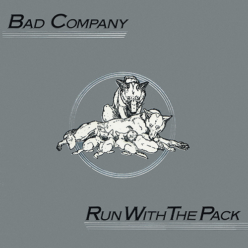 Bad Company - Run With The Pack [Swan Song SS 8415] (21 February 1976)