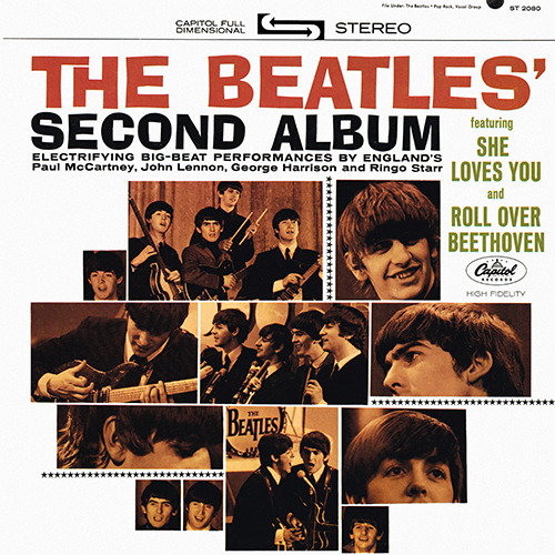 The Beatles - The Beatles' Second Album [Apple Records ST-2080] (10 April 1964)