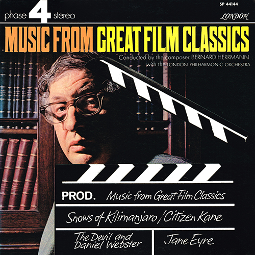 Bernard Herrmann - Music From Great Film Classics [London Phase 4 SP 44144] (1970)