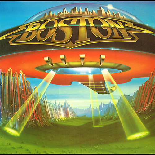 Boston - Don't Look Back [Epic Records FE 35050] (2 August 1978)