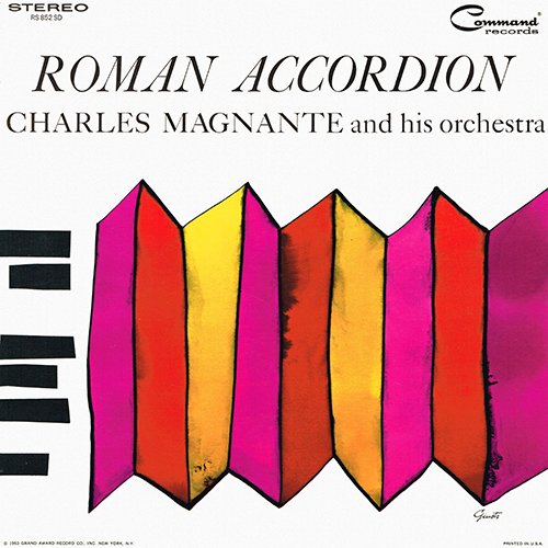 Charles Magnante - Roman Accordian [Command Records RS 852 SD] (1963)