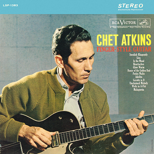 Chet Atkins - Finger Style Guitar [RCA Victor LSP-1383] (1962)