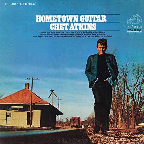 Chet Atkins - Hometown Guitar [RCA Victor LSP-4017] (1968)