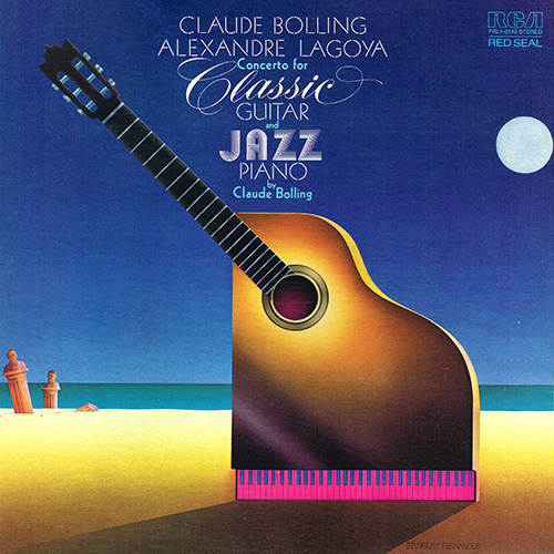 Claude Bolling - Concerto For Classic Guitar And Jazz Piano [RCA Red Seal FRL1-0149] (1976)
