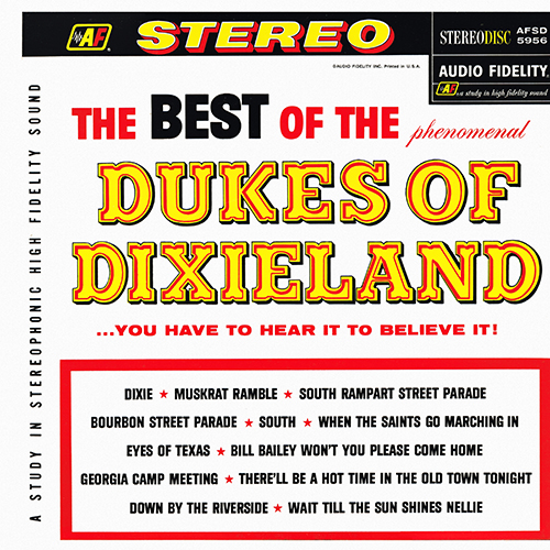 The Dukes Of Dixieland - The Best Of The Dukes Of Dixieland [Audio Fidelity AFSD 5956] (1961)