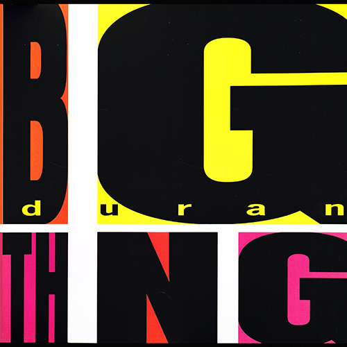 Duran Duran - Big Thing [Parlophone DBDD 33] (18 October 1988)