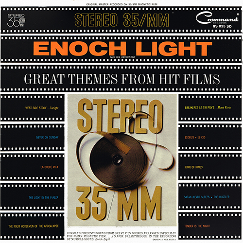 Enoch Light - Great Themes From Hit Films [Command Records RS 835 SD] (1962)