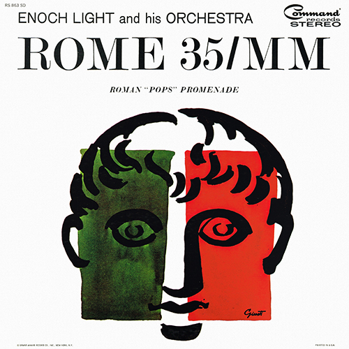 Enoch Light And His Orchestra - Rome 35/MM [Command Records RS 863 SD] (1964)
