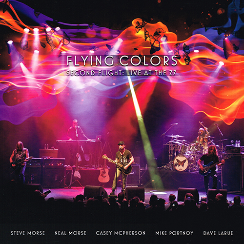 Flying Colors - Second Flight: Live At The Z7 [Music Theories Recordings MTR74701] (13 November 2015)