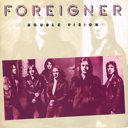 Foreigner - Double Vision [Atlantic SD 19999] (20 June 1978)