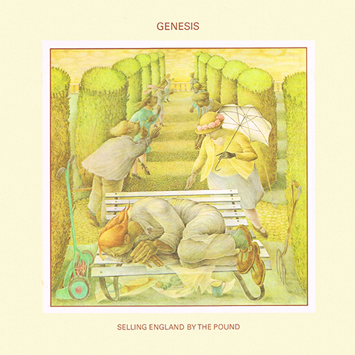 Genesis - Selling England By The Pound [Charisma CAS 1074] (1973)